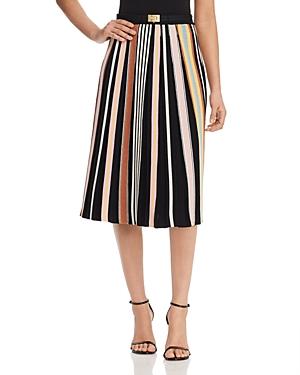 Tory Burch Striped Knit Skirt