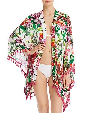 Trina Turk Welcome To Miami Kimono Swim Cover-Up - 100% Exclusive-Women