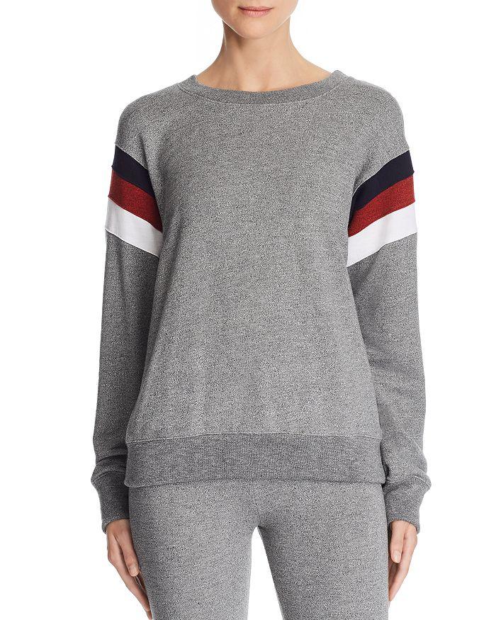 Sundry - Color-Block-Sleeve Sweatshirt