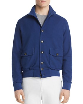 Dylan Gray - Textured Button-Front Jacket