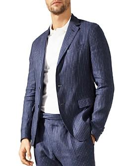 Polo Ralph Lauren - Simple Stripe Morgan Fit Linen Sport Coat