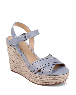 Splendid Sandals WOMEN'S TAFFETA ESPADRILLE WEDGE SANDALS