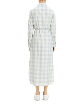 371b93f58ec Theory - Belted Gingham Shirtdress Theory - Belted Gingham Shirtdress