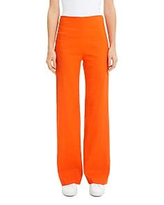 Theory - High-Rise Wide-Leg Pants