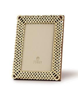 """L'Objet - L'Objet """"Gold Braid"""" Frames"""