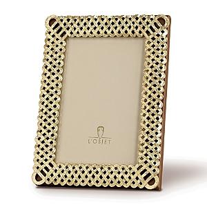 L'objet L'OBJET GOLD BRAID FRAME, 8 X 10