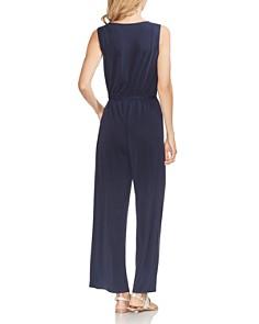 VINCE CAMUTO - Sleeveless Wide-Leg Jumpsuit