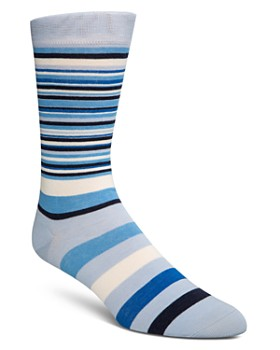 Cole Haan - Cole Haan Town Stripe Socks