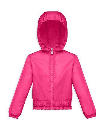 Moncler - Girls' Erinette Hooded Windbreaker Jacket - Big Kid