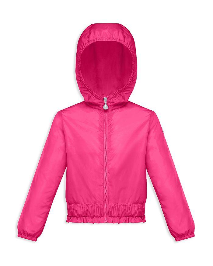 Moncler - Girls' Erinette Hooded Windbreaker Jacket - Little Kid