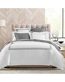 Hudson Park Collection - 500TC Embroidered Geo Bedding Collection - 100% Exclusive