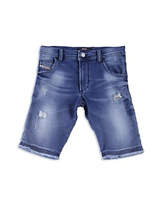 Diesel - Boys' Stretch-Denim Shorts - Big Kid