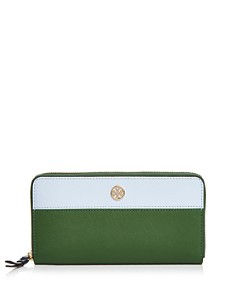 Tory Burch - Robinson Color-Block Zip Wallet