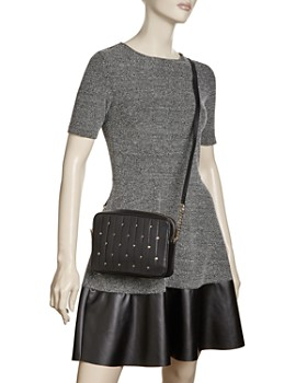 kate spade new york - Medium Studded Leather Crossbody
