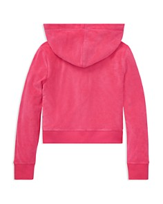 Ralph Lauren - Girls' Cotton-Blend Terry Hoodie - Big Kid