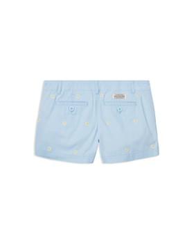 Ralph Lauren - Girls' Embroidered Chino Shorts - Big Kid