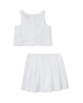 Ralph Lauren - Girls' Eyelet Top & Skirt Set - Little Kid