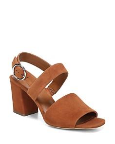 Via Spiga - Women's Evelyne Block Heel Slingback Sandals