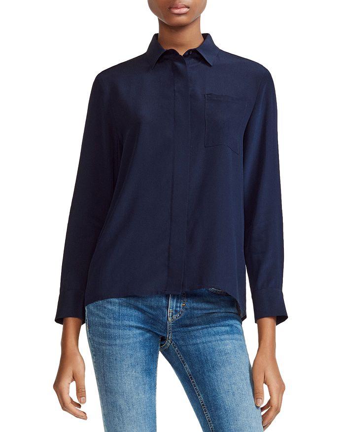 d9c9d48f1e0b6 Maje - Cela Silk Shirt