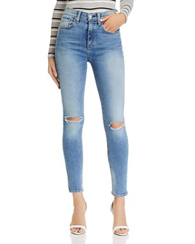 rag & bone - Nina High-Rise Ankle Skinny Jeans in Tulsa