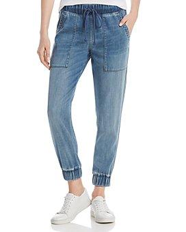 Bella Dahl - Denim Pocket Jogger Pants