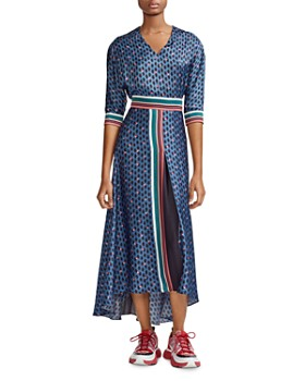 cf69b893a Maje - Reanne Print Dress ...