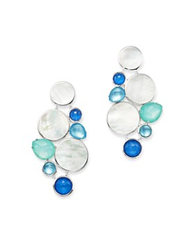 IPPOLITA - Sterling Silver Wonderland Mother-of-Pearl Doublet Drop Earrings