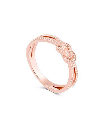 Fred - 18K Rose Gold 8° Diamond Ring