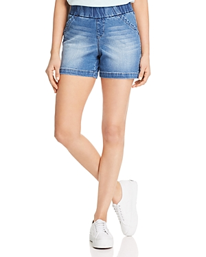 Jag Jeans Shorts GRACIE'S HIGH-RISE DENIM SHORTS IN HORIZON BLUE