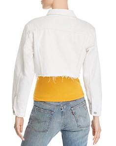 Levi's - Cropped Denim Trucker Jacket