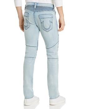 36488769fed6 ... True Religion - Rocco Classic Moto Slim Fit Jeans in Silver Moon