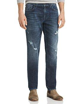 True Religion - Geno Straight Fit Jeans in Worn Santiago