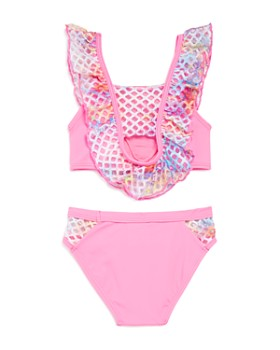 Peixoto - Girls' Blake Ruffle & Net Two-Piece Swimsuit - Little Kid, Big Kid