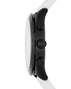 Michael Kors - Keaton White Silicone Strap Chronograph, 43mm