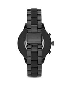 Michael Kors - Runway Black Link Bracelet Touchscreen Smartwatch, 41mm
