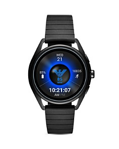 Emporio Armani - Touchscreen Smartwatch Black Rubber, 43mm