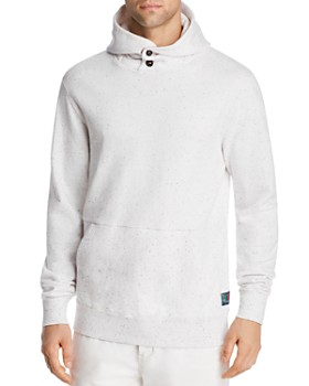 Scotch & Soda - Felpa Speckled Hooded Sweatshirt