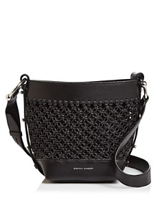 Rebecca Minkoff - Leather Macrame Crossbody Bucket Bag - 100% Exclusive