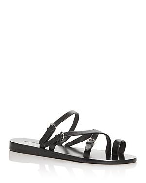Sigerson Morrison Sandals WOMEN'S KALEY TOE-RING SANDALS