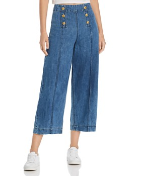 MKT Studio - Pepin Sailor-Style Denim Pants