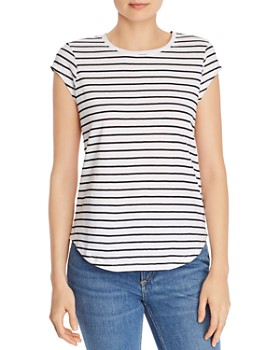 Joie - Dillon C Striped Tee - 100% Exclusive
