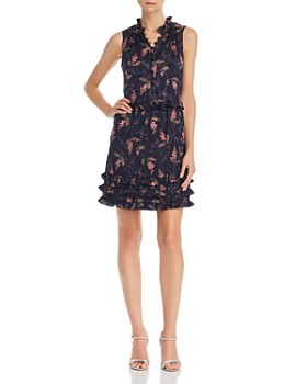 Rebecca Taylor - Ivie Ruffled Floral-Print Dress