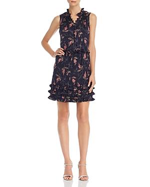 Rebecca Taylor Dresses IVIE RUFFLED FLORAL-PRINT DRESS