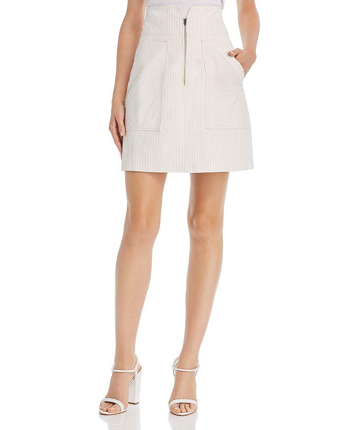 Rebecca Taylor - Pinstriped Mini Skirt