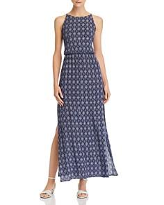 AQUA - Tile Print Maxi Dress - 100% Exclusive
