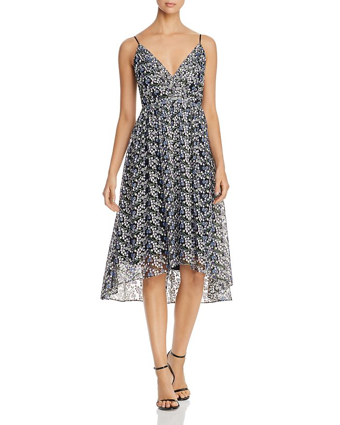 Elie Tahari - Liandra Sleeveless Floral-Embroidered Dress