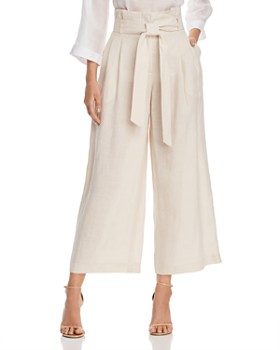 9a1e70ba7e2edd Lafayette 148 New York - Morris Wide-Leg Linen Cropped Pants ...