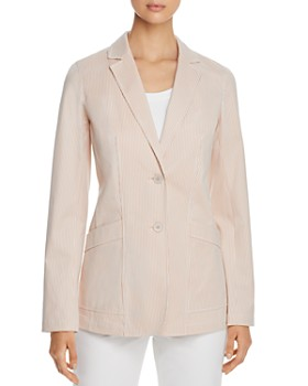 Lafayette 148 New York - Boston Pinstriped Blazer