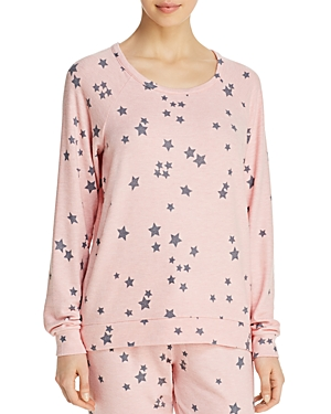 Pj Salvage Peachy Party Long-Sleeve Top
