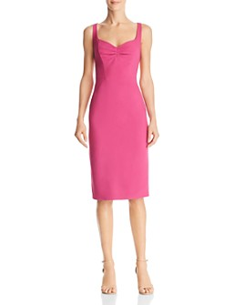 Adrianna Papell - Ruched Front Sheath Dress